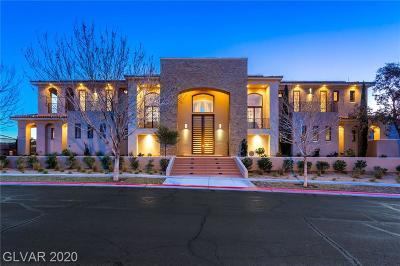 Seven Hills Single Family Home For Sale: 1580 Villa Rica Drive