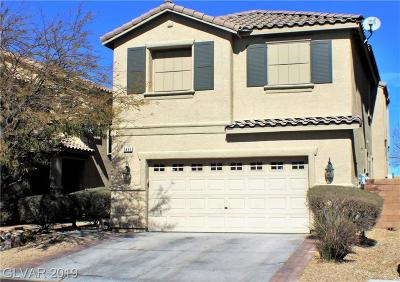 Las Vegas Single Family Home For Sale: 3490 Bella Valencia Court