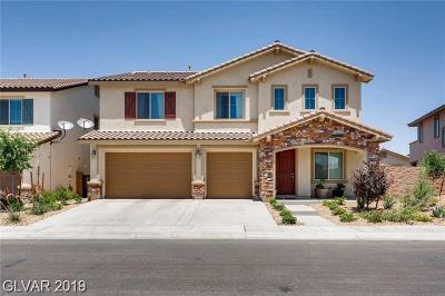 HENDERSON Single Family Home For Sale: 232 Punto Di Vista Drive