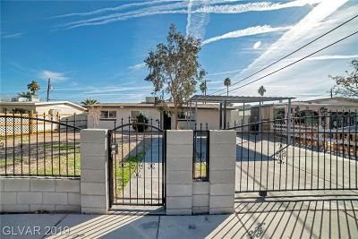 Single Family Home For Sale: 2221 Santa Clara Drive