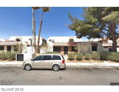 NORTH LAS VEGAS Condo/Townhouse For Sale: 2112 Venus Avenue #B