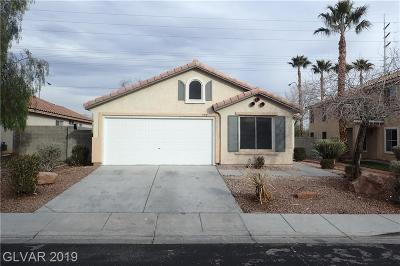 Las Vegas Single Family Home For Sale: 550 Beresford Avenue