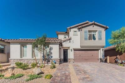 Las Vegas Single Family Home For Sale: 8127 Bear Canyon Street