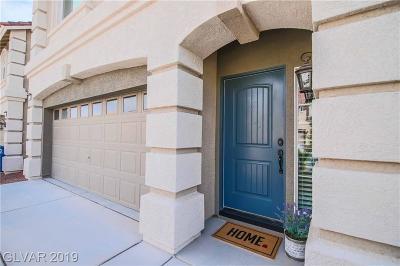 Las Vegas Single Family Home For Sale: 6027 Gordon Creek Avenue