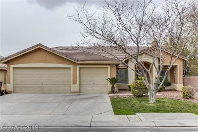 Clark County Single Family Home For Sale: 4460 Patriot Cannon Street