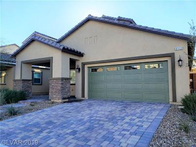 Las Vegas Single Family Home For Sale: 8333 Spanish Creek Court