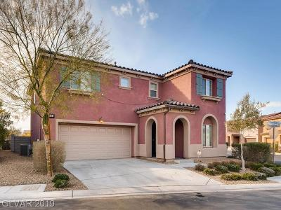 Clark County Single Family Home For Sale: 5511 Emerald Basin Street