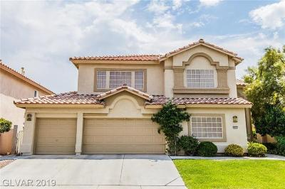 Las Vegas Single Family Home For Sale: 3852 Rancho Niguel Parkway