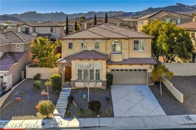 Las Vegas Single Family Home For Sale: 613 El Loro Street