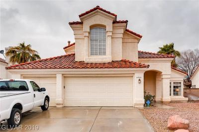 Las Vegas Single Family Home For Sale: 4541 Special Court