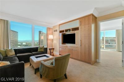 Trump Intl Hotel & Tower-, Trump Intl Hotel & Tower- Las, Signature At Mgm, Palms Place A Resort Condo & S, Vdara Condo Hotel, Platinum Resort Condo High Rise For Sale: 2000 Fashion Show Drive #3307