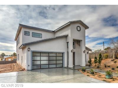 Las Vegas Single Family Home For Sale: 5150 Amanda Lane