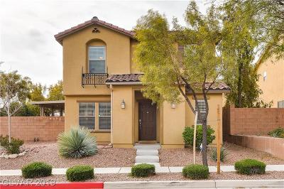 Las Vegas NV Single Family Home For Sale: $289,500