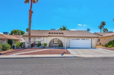 Las Vegas Single Family Home For Sale: 6221 Vista Verde North