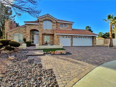 Las Vegas, North Las Vegas, Henderson Single Family Home For Sale: 2000 White Falls Street
