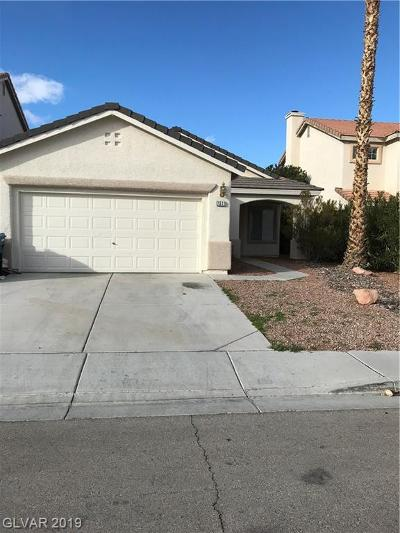 Las Vegas Single Family Home For Sale: 7511 Foolish Pleasure Drive