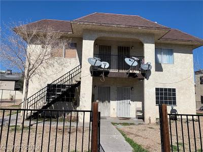Las Vegas Multi Family Home For Sale: 1254 1254 Fraya Drive