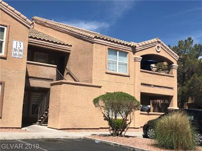 Las Vegas NV Condo/Townhouse For Sale: $165,000