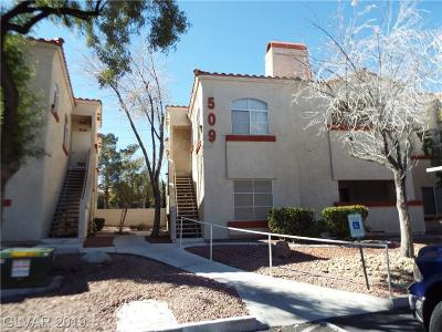 Las Vegas NV Condo/Townhouse For Sale: $157,500