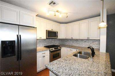 Las Vegas NV Condo/Townhouse For Sale: $188,000