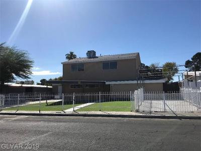 Las Vegas NV Single Family Home For Sale: $287,000