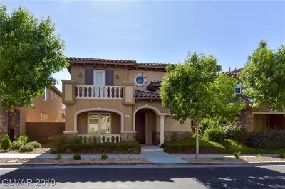 Henderson Single Family Home For Sale: 1867 Via Delle Arti