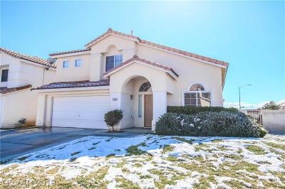 Las Vegas Single Family Home For Sale: 9459 Breechcloth Way