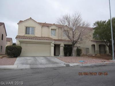 Las Vegas Single Family Home For Sale: 9914 Clover Field Court
