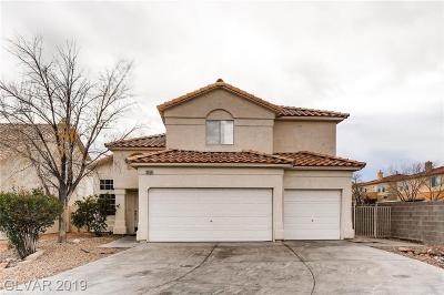 Las Vegas Single Family Home For Sale: 2055 Pescara Court