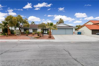 Las Vegas Single Family Home For Sale: 2600 La Solana Way