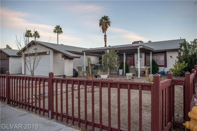 LAS VEGAS Single Family Home For Sale: 4163 Colorado Avenue