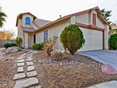 Las Vegas Single Family Home For Sale: 6609 Messenger Court