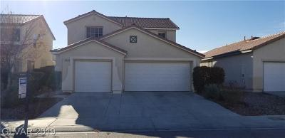 North Las Vegas Single Family Home For Sale: 5631 Indian Springs Street