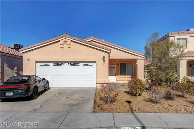NORTH LAS VEGAS Single Family Home For Sale: 1304 Wizard Avenue