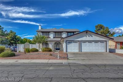 LAS VEGAS Single Family Home For Sale: 6832 High Bluff Way