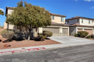 NORTH LAS VEGAS Single Family Home For Sale: 1504 Firefly Ranch Lane