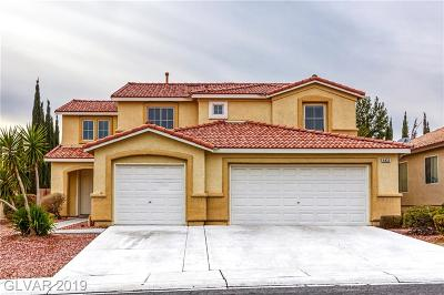 North Las Vegas Single Family Home Under Contract - No Show: 6433 Giant Oak Street