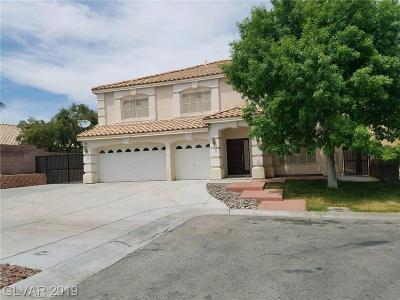 Las Vegas, North Las Vegas, Henderson Single Family Home For Sale: 6638 Buried Treasure Court