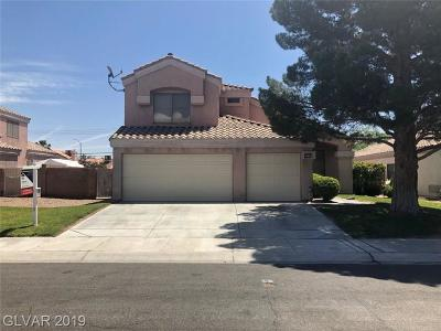 Las Vegas Single Family Home For Sale: 5516 Galena Point Street