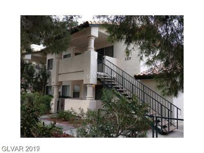 Condo/Townhouse Under Contract - No Show: 1337 Cinder Rock Drive #201