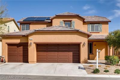 North Las Vegas Single Family Home Under Contract - No Show: 6732 Violet Bluff Court