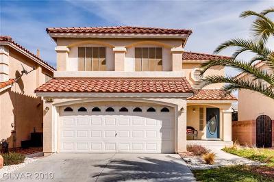 Las Vegas  Single Family Home For Sale: 7526 Aurora Glow Street