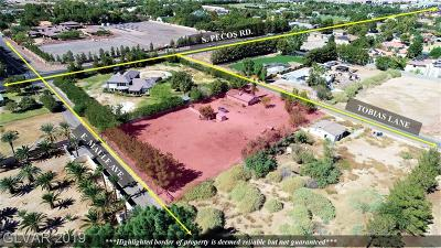 Henderson Residential Lots & Land For Sale: 3453 Tobias Lane