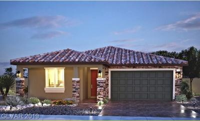 Henderson Single Family Home Under Contract - No Show: 1868 Placid Street #LOT 71