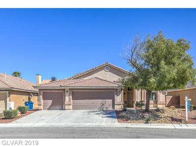 North Las Vegas Single Family Home For Sale: 4510 Patriot Cannon Street
