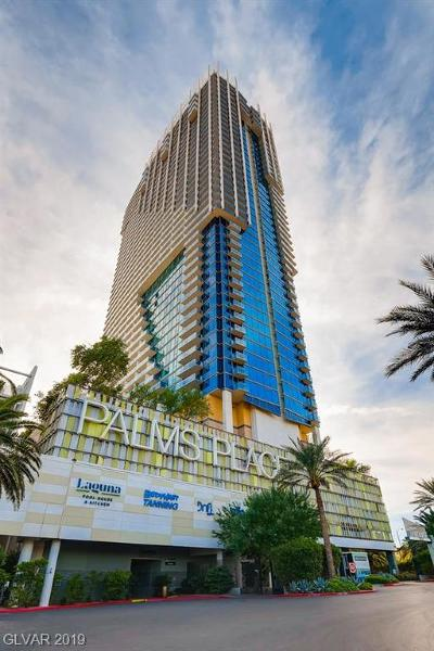 Palms Place A Resort Condo & S High Rise Under Contract - Show: 4381 Flamingo Road #1205