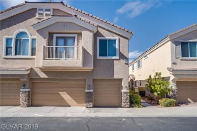 Henderson NV Condo/Townhouse Under Contract - No Show: $230,000