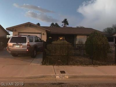 Las Vegas NV Single Family Home Under Contract - No Show: $140,000