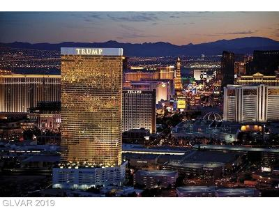 Trump Intl Hotel & Tower-, Trump Intl Hotel & Tower- Las, Signature At Mgm, Palms Place A Resort Condo & S, Vdara Condo Hotel, Platinum Resort Condo High Rise For Sale: 2000 Fashion Show Drive #3004