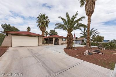 North Las Vegas Single Family Home For Sale: 4200 Rustic Court